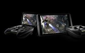 Picture high-tech, control, screen, console, video games, Titanfall, nvidia shield 2, tegra k1, high technology, LED, …