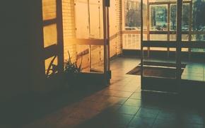 Picture light, inside, doors