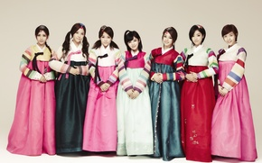 Picture music, girls, Asian girls, South Korea, Kpop, T-ARA, hanbok
