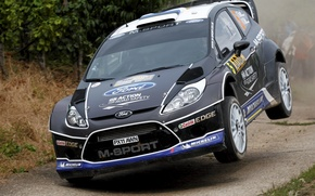 Picture Ford, Jump, WRC, Rally, Fiesta, There Miss