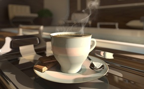 Picture coffee, Cup, coffee cup
