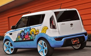 Picture 2011, tuning, Kia, soul, west cosat customs, hole-in-one