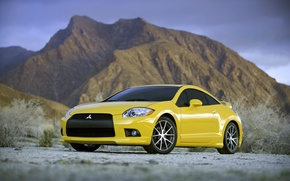 Picture auto, machine, mitsubishi, eclipse, Mitsubishi, gt machines