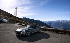 Picture road, AMG, Mercedes-benz, GT-S