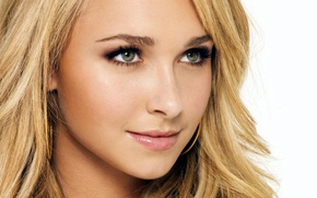 Picture Look, Blonde, Smile, Face, Hayden Panettiere, Close-Up
