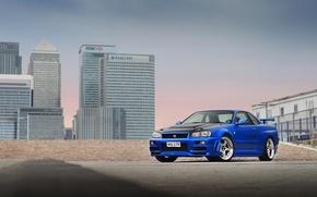 Picture City, Nissan, Skyline, R34