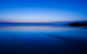 Picture beach, sky, sea, night, sand