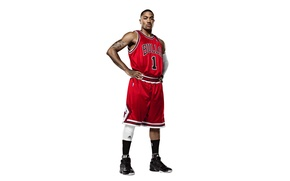Picture White, The ball, Basketball, Background, Form, Tattoo, Adidas, NBA, Chicago Bulls, Derrick Rose, Bulls, First, ...