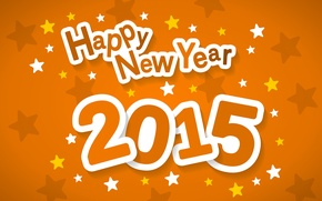 Picture stars, background, Christmas, New Year, Happy, 2015