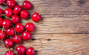 Picture cherry, berries, fresh, wood, cherry, sweet, cherry, berries