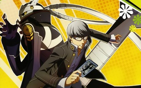 Picture map, anime, art, guy, Persona