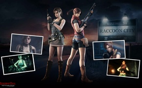 Picture gun, weapons, gun, shotgun, Resident Evil, Biohazard, Resident Evil: Operation Raccoon City, Jill Valentine, Claire …