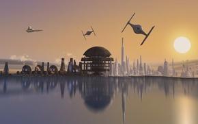 Picture animated series, Star Wars Rebels, Star wars Rebels, episode Breaking Rank, planet Lothal