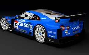 Picture GTR, Nissan, Calsonic