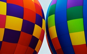 Picture balloon, color, texture, fabric