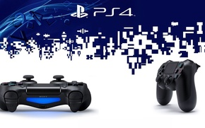 Picture style, gamepad, ps4, DualShock 4, sony