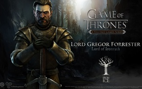 Picture Game of Thrones, Game of thrones, Lord Gregor Forrester, telltale games