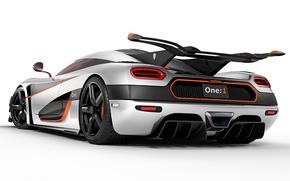 Picture Koenigsegg, carbon, 440, One:1, megakar