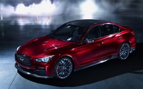 Picture Concept, Infiniti, Red Water, 2014, Q50