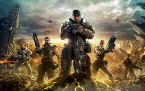 Picture Soldiers, Warriors, Gears of War 3, Fighters