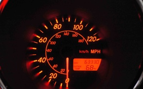Picture speed, speedometer, arrow