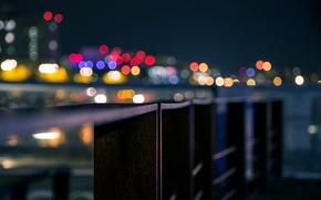 Picture macro, the city, background, Wallpaper, blur, wallpaper, widescreen, background, macro, bokeh, bokeh, full screen, HD ...