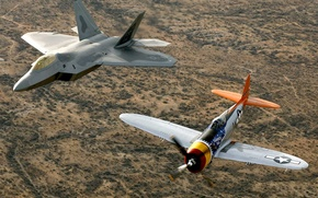 Wallpaper aircraft, f22a, raptor