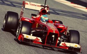Picture formula 1, ferrari, Ferrari, formula 1, alonso, Alonso, Fernando