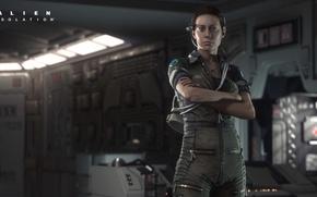 Picture girl, Stranger, Alien: Isolation, Amanda Ripley, Amanda Ripley, Insulation