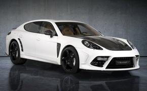 Picture auto, background, Porsche, Panamera, tuning, Turbo, Mansory, Mansory