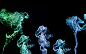 Wallpaper smoke, smoke, smoke effeckt