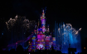 Picture FL, USA, USA, Disneyland, Orlando, Disneyland, Cinderella Castle, Florida, Cinderella Castle