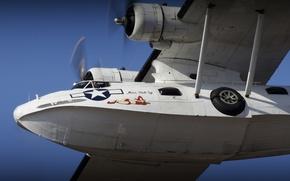 "Picture the plane, sea, anti-submarine, patrol, ""Catalina"", PBY Catalina"