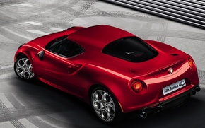 Wallpaper coupe, alfa romeo