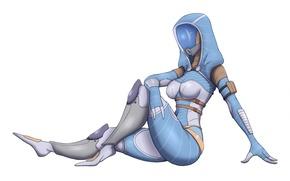 Picture mask, art, costume, alien, Mass Effect, tali, quarian, Glubinny Zorah nar Rayya, Tali'Zorah