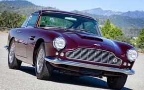 Picture retro, Aston Martin, lights, Aston Martin, classic, the front, 1958, DB4