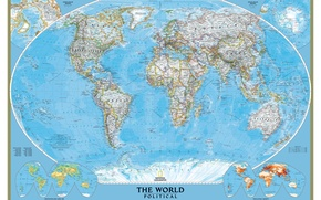 Picture the world, map, national, geographic