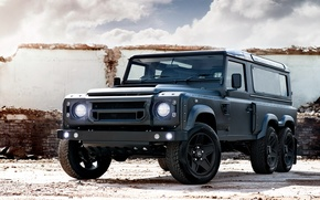 Picture tuning, Project Kahn, Land Rover, Chelsea, Defender, land Rover, defender, 2015, Wide Track