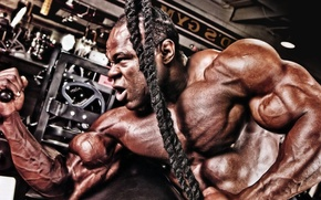 Picture pose, muscle, muscle, gym, bodybuilder, bodybuilder, Kai Greene, Kai Greene, gym