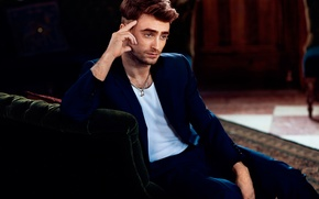 Picture photoshoot, Daniel Radcliffe, Essential Homme