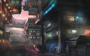 Picture the city, future, Japan, Tokyo, Shinjuku, district