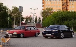 Picture tuning, Lada, suspension, lada, Lada, stance, 2109, mazda 6
