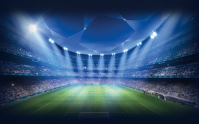 Picture Field, Sport, Football, Stadium, Champions League