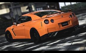 Picture car, machine, supercar, Nissan, GT-R, cars, gtr<jdm