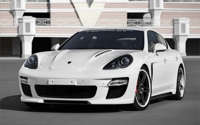 Wallpaper tuning, panamera, porsche