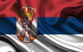 Picture flag, Serbia, serbia