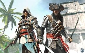 Picture Captain, Edward Kenway, Assassin's Creed IV: Black Flag, Blackbeard, Black Flag, assassin, Blackbeard, Edward Teach, ...