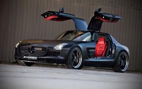 Picture Black, SLS, front, Kicherer, Supersport Edition
