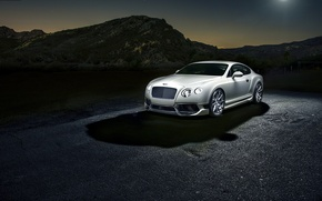 Picture Bentley, Continental, Bentley, white
