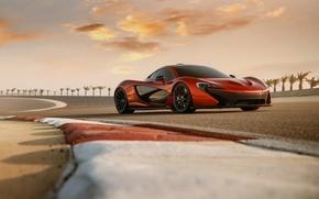 Picture supercar, McLaren, mclaren p1, bahrain